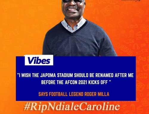 Cameroon Football Legend Roger Milla Demands The Japoma's Stadium To Be Renamed After Him!